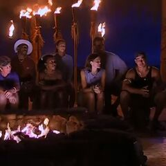 Maraamu at Tribal Council.