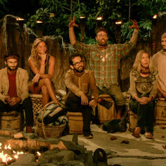 Solewa at their seventh Tribal Council.
