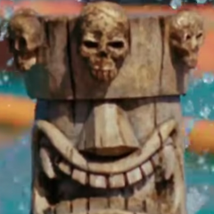 <i>Survivor: Ghost Island</i> Immunity Idol.
