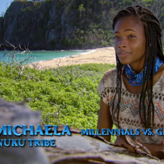 Michaela making a <a href=