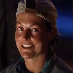 Zoe at Tribal Council.
