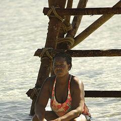 Cirie at Exile Island.