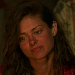 Hali at Mana's second Tribal Council.