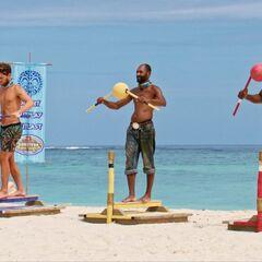 Alec, Carl and Davie compete.