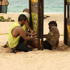 Fusión at the fourth individual Immunity Challenge.