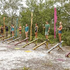 The castaways competing in the first Individual <a href=