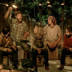 Solewa at their eighth Tribal Council.