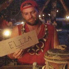 Chris votes out Eliza.