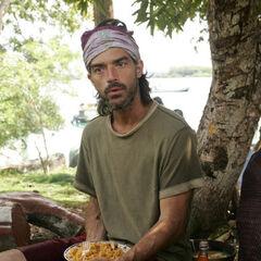 Shane at the Panama village.