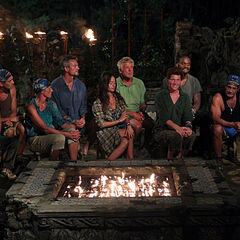 Espada at their second Tribal Council.