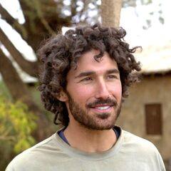 Ethan at the reward in Wamba village.