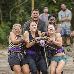 Takali competes in the fourth Immunity Challenge, <i><a href=