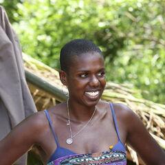 Francesca at camp.