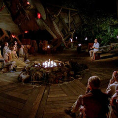 Vata at their eighth Tribal Council.