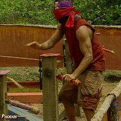 Boo at his Final Immunity Challenge.
