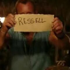 Ralph casts a vote against Russell.