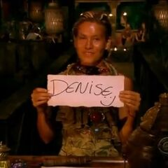 Abi's first vote against Denise.