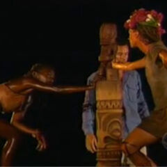 Neleh at the Final Immunity Challenge.