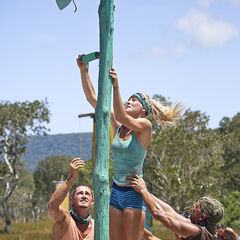 Kelley competing for tribal reward in <i><a href=