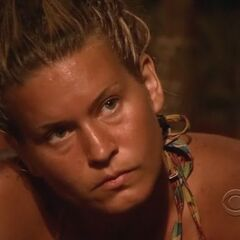 Abi-Maria at Tribal Council.