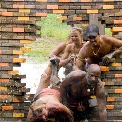 Ometepe crashes through their wall.