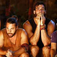 Samatau at their fourth consecutive Tribal Council.