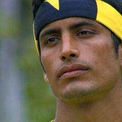 Miguel Montaño eliminated.