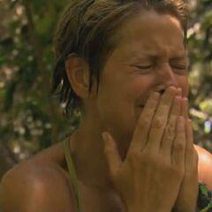 Dawn having her emotional breakdown.