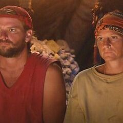The Final Two at Tribal Council.