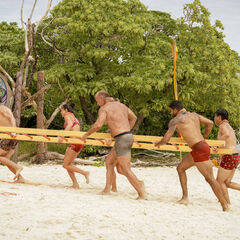 Lairo competes in the second Reward/Immunity Challenge, <i>Rung O Star</i>.