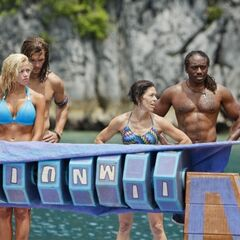 Matsing loses another Immunity Challenge.