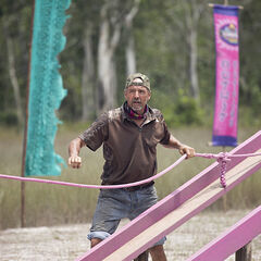 Keith at the second Immunity Challenge.
