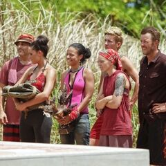 Kalabow is the second tribe to win Immunity.