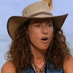 Jerri's face upon learning that the last place tribe would be <a href=