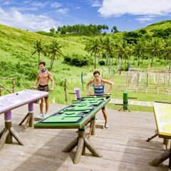 Lumuwaku competes in the seventh individual Immunity Challenge, <i><a href=