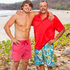 Wes and his father <a href=