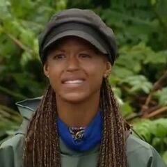 Alicia's reaction to being deemed to think she's smarter than she really is.