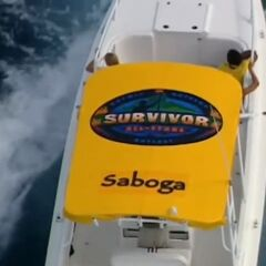 The speed boat carrying Saboga.