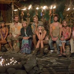 Enil Edam at the final nine Tribal Council.