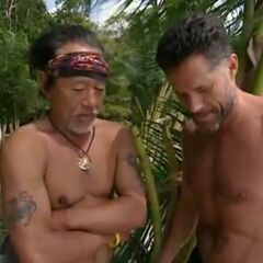 Terry talking to Bruce