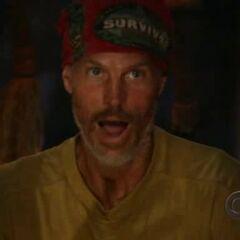 Gary at his last Tribal Council.