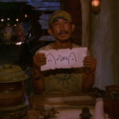 Tai voting against Andrea.