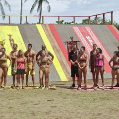 The tribes before the challenge.