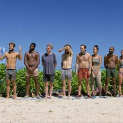 The final ten at the Reward Challenge.