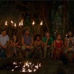 Ta Keo's second Tribal Council.
