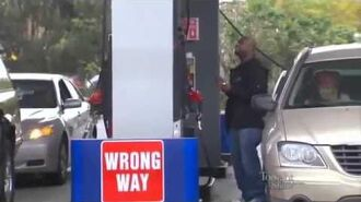Gas station prank - Couple Perform Karaoke in TV Prank - The Tonight Show with Jay Leno