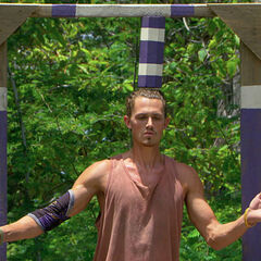 Joe competing in his last challenge, <i><a href=