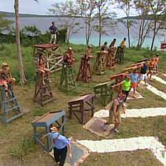 The final seven compete in <i>Vanuatu</i>.
