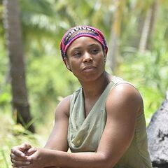 Tasha in the premiere of <i>Cambodia</i>.