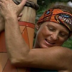 Twila at the Immunity Challenge, Day 27.